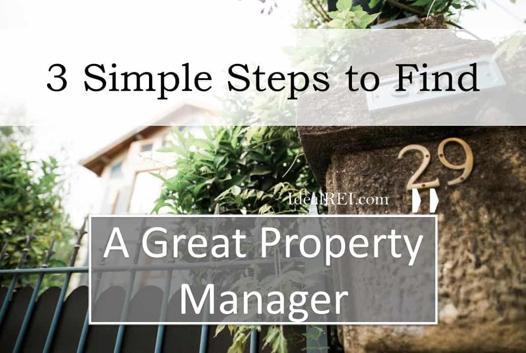 Finding a great property manager
