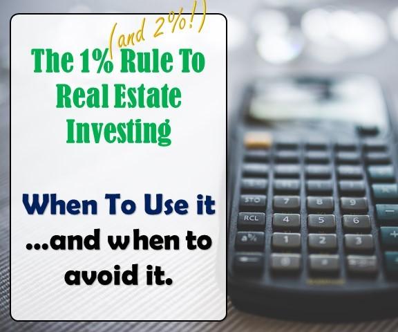 1 Percent and 2 percent Rule