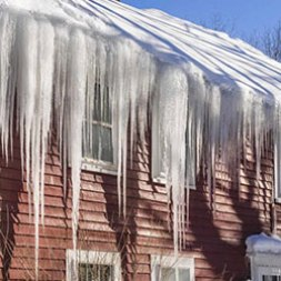 Ice Prevention System For The Roof