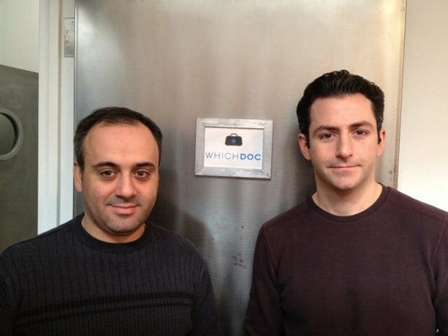 Rob and Saro - Co-Founders of WhichDoc