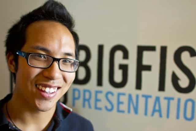 Kenny Nguyen - Founder and CEO of Big Fish Presentations