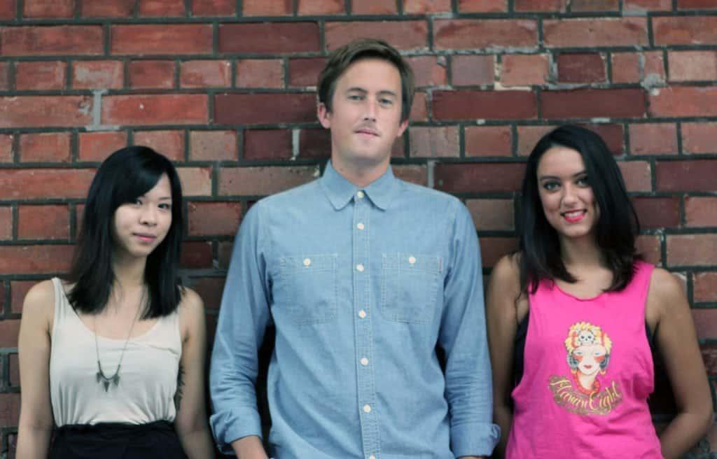 Rhys, Scarlett and Sarah - Founders of Social Rehab