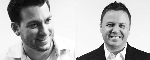 Joe Griffin and Jay Swansson - Founders of iAcquire