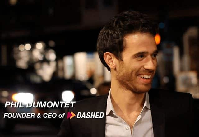 Phil Dumontet - Founder and CEO of DASHED