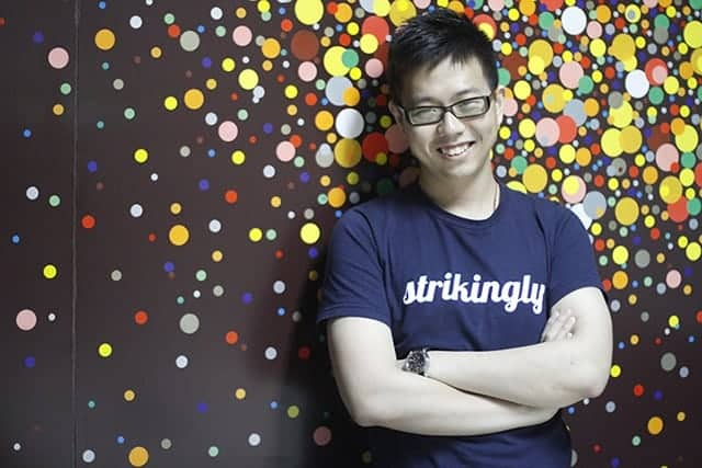 David Chen - CEO of Strikingly