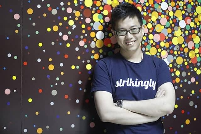 David Chen - CEO of Strikingly