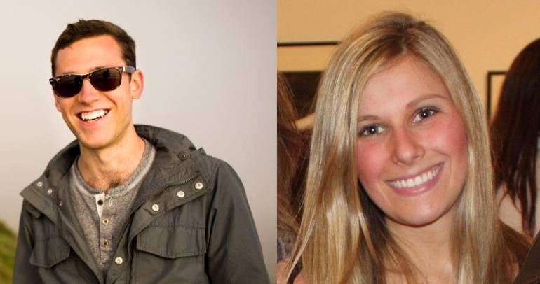 Hannah Dow and Steve Coffey - Creators of Rudder App