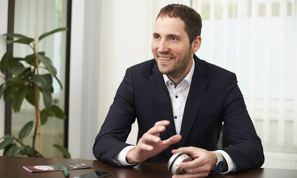 Ákos Dömötör - CEO of OptoForce