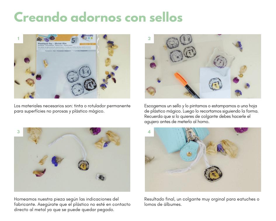 ideas aprovechar sellos plástico mágico