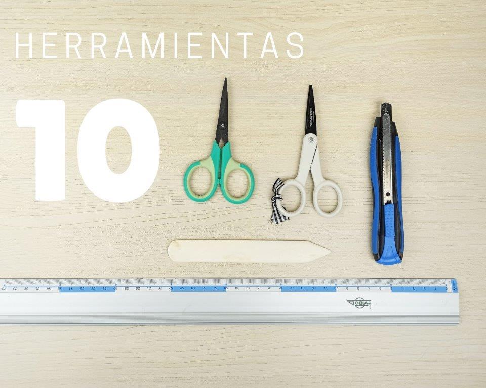 10 Herramientas para scrapbook imprescindibles