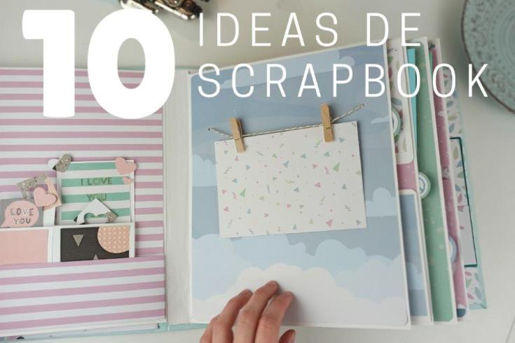 ideas scrapbook español