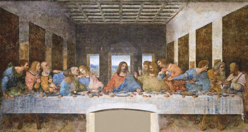 Ultima Cena, Da Vinci, Cenacolo Vinciano, Milán, Santa Maria delle Grazie