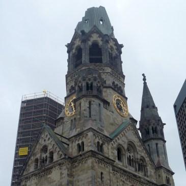 La Iglesia del Kaiser Wilhelm y los rastros de la Segunda Guerra