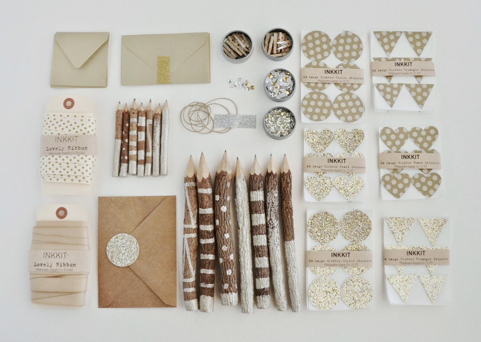 Inkkit craft supplies