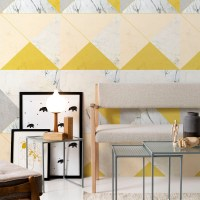 Marble and Concrete Wallpaper by LileSADI