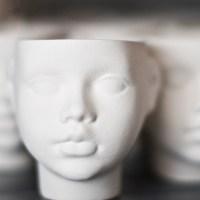 Unique Porcelain Pieces by ENDE