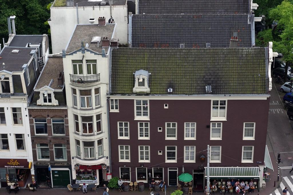 Amsterdam, view from Westerkerk