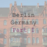 City Explorer: Berlin. Part I