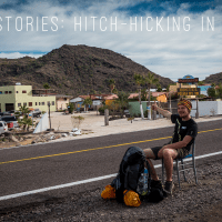 Travel stories: hitch-hiking in America, 18th of July, 19.00