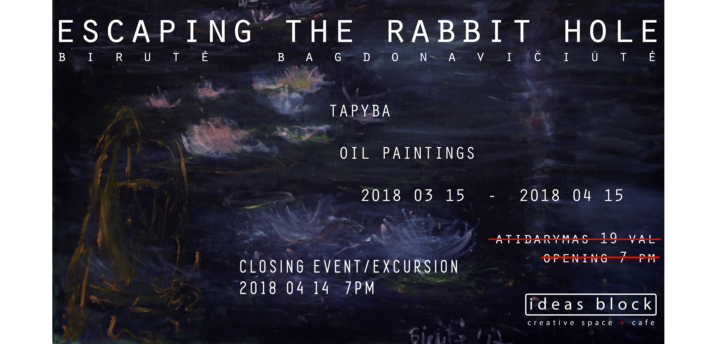Escaping the Rabbit Hole closing event