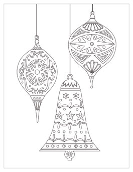 christmas coloring book pages # 27
