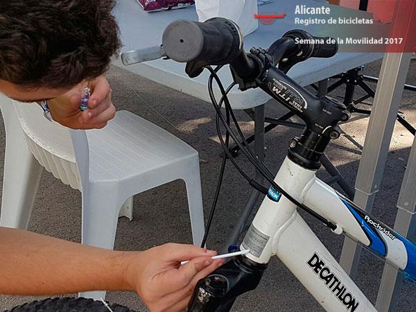 registro de bicis