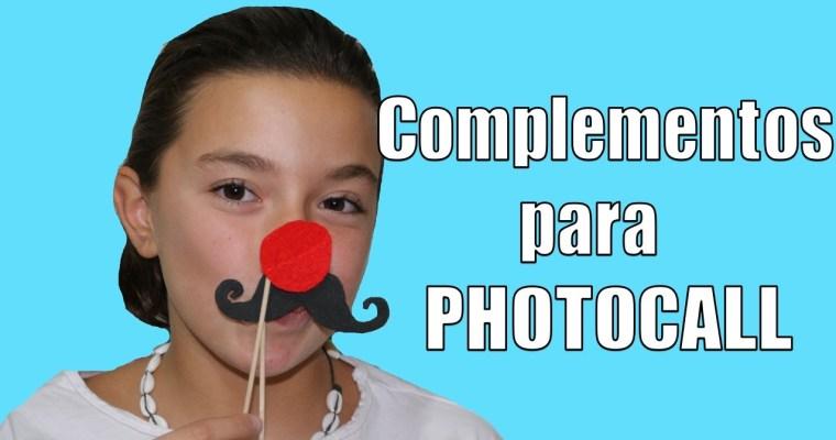 Complementos para un Photocall. DIY