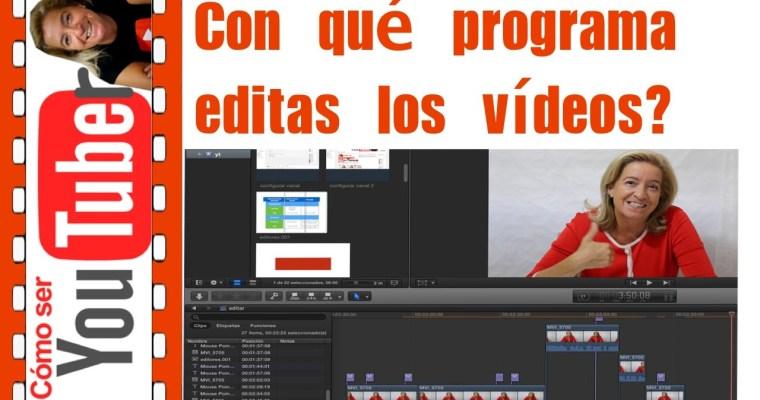 Con qué programa editas?