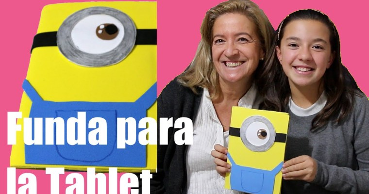 Funda de Minion para la Tablet