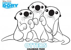 dibujos para colorear de Dory