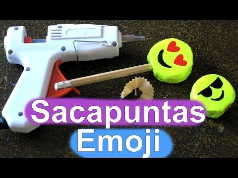 [:es]Sacapuntas de silicona caliente de Emoji. Material escolar[:]