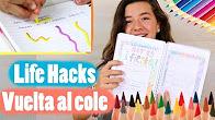 5 increíbles life hacks para la vuelta al cole. Regreso a clases