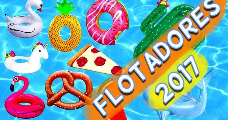 Los flotadores inundan las fotos de Instagram. Los Flotadores gigantes para piscina y sorteo