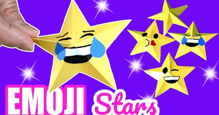 Emoji stars. Estrellas de Emojis para Navidad