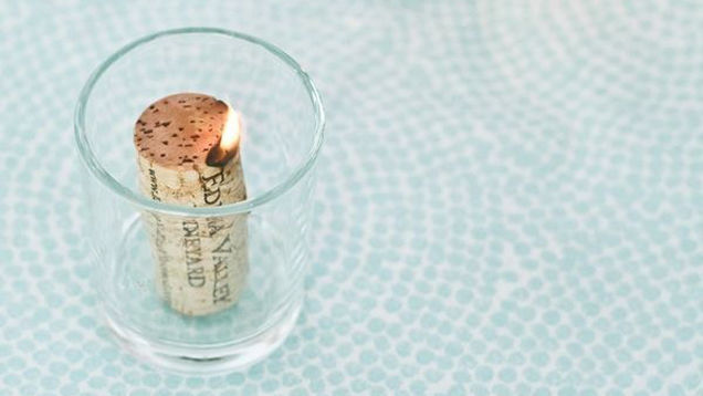 8 Creative DIY Ideas: How To Make Wine Cork Candle