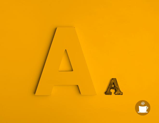 Jerarquía-y-constraste-tipografías-ideas-con-cafe-agencia-digital
