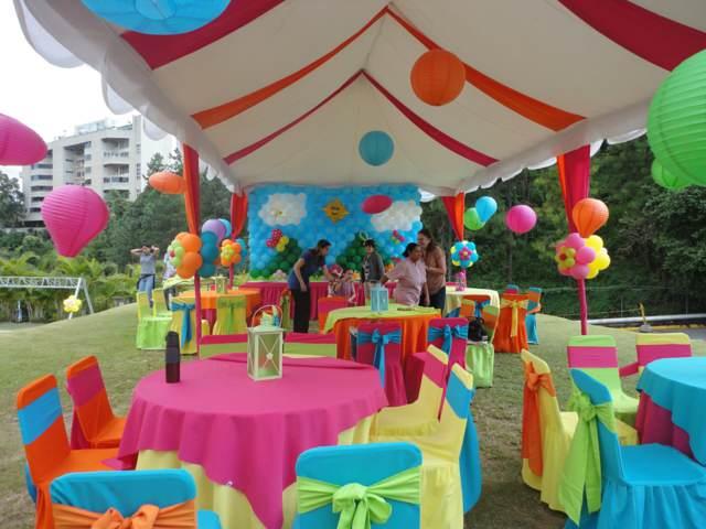 Salones De Fiestas Infantiles Ideas Fantásticas Decoración 15 Años