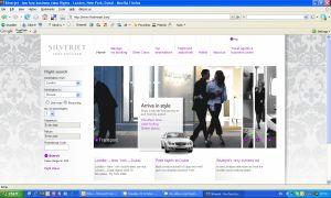 silverjet-website