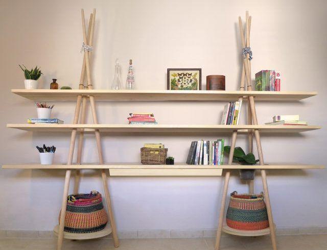 Tipi Shelves