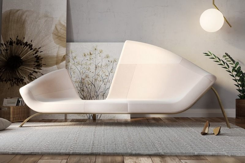 Chaise-lounge caliner