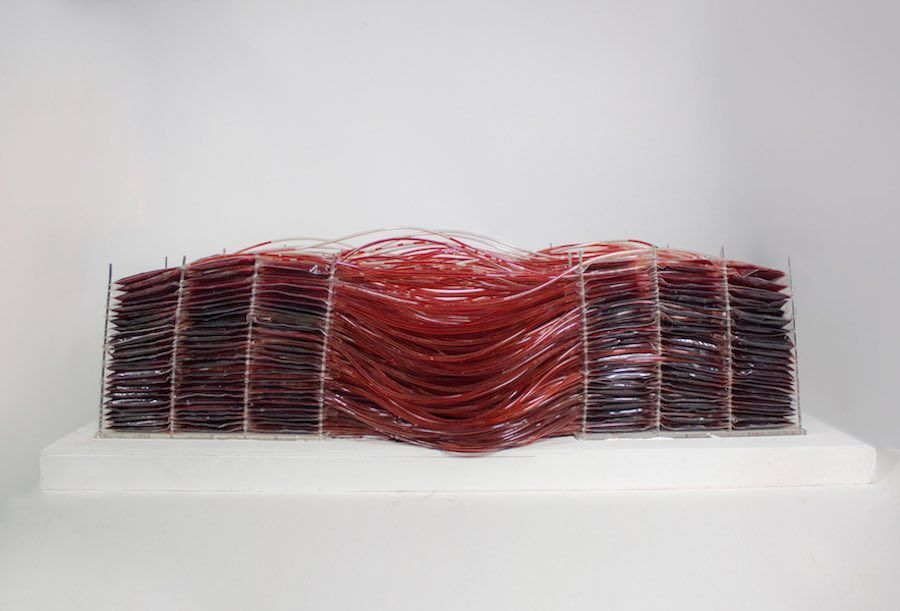 Red series 001, Breath