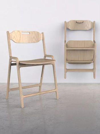 Native Folding Chair, Joe Parker