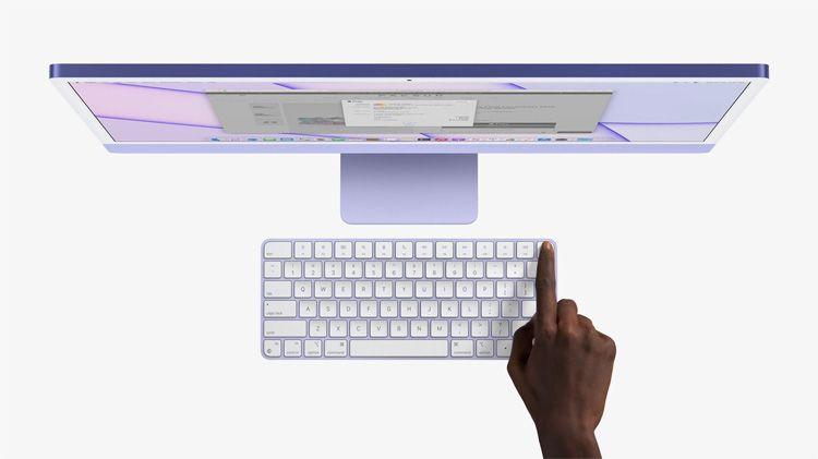iMac violeta