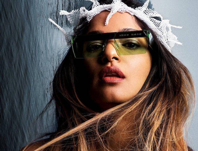 Gafas desecho oceánico