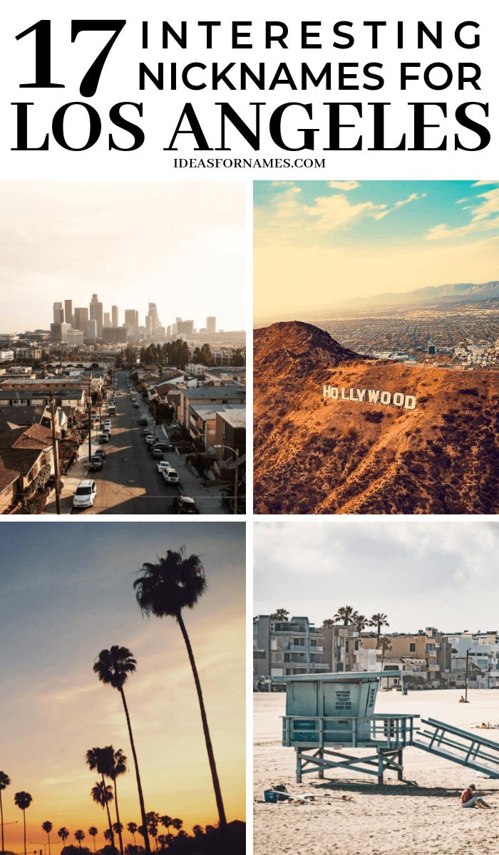 17 Interesting Nicknames For Los Angeles That May Surprise You #losangeles #la #visitla #discoverla #lostinla #nicknames #cityofangels