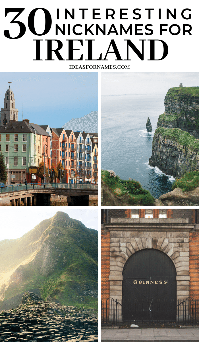 Nicknames For Ireland You Might Not Have Heard Of Before, Irish names for places, counties, and people #ireland #