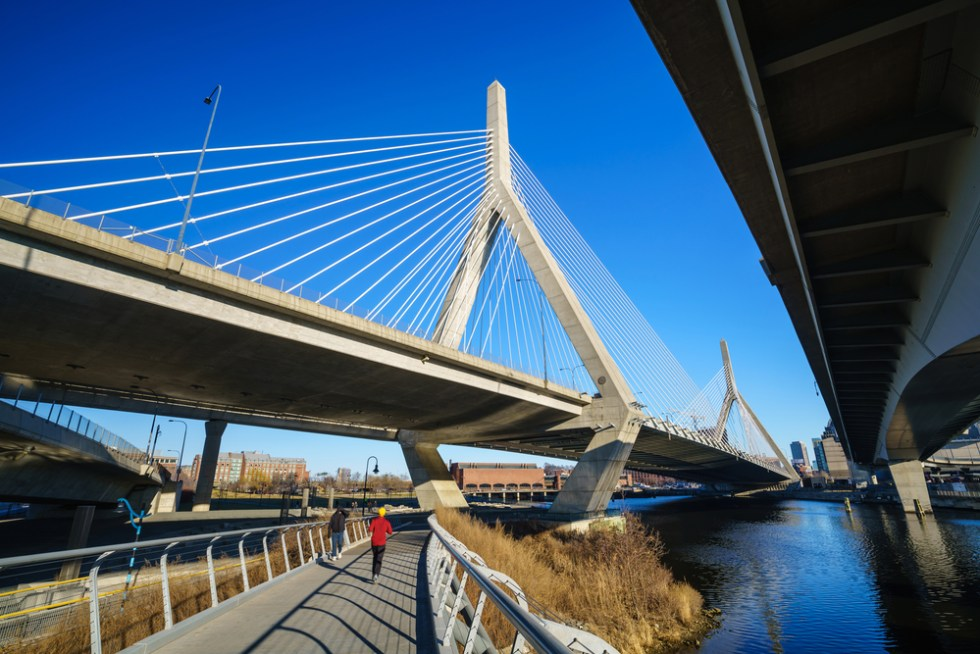 The Zakim Bridge in Boston, Massachusetts - USA, BOSTON Nicknames