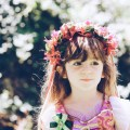 Best Greek Girl Names (With Meanings) For Your Little Goddess, girl with flower crown