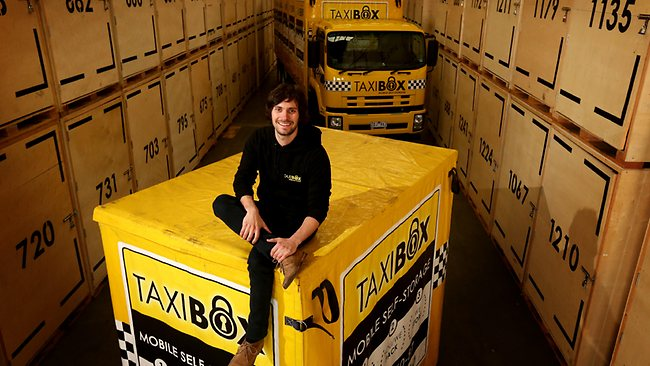 Ben and Jeremy - founders of TaxiBox