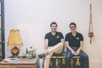 Left to right: Marcus Brown & Jarrod Milani, Forbidden Foods Co-Founders